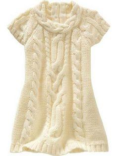 vestidos para niña tejidos en agujas - Buscar con Google