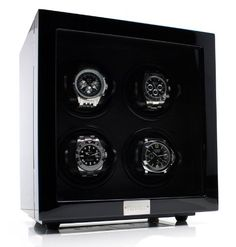 Just arrived Heiden Vantage Quad Watch Winder with LCD - Black