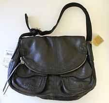 NWT $168 Vintage Lucky Brand Stash Hobo Bag Black