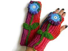 #knitmittens #knitarmwarmer #handmadegloves #knittedfingerless #armwarmer #knitgloves #knitaccessories #etsyknit #fingerlessglove Neck Accessories, Winter Accessories, Handmade Accessories, Wool Gloves, Crochet Gloves, Fingerless Gloves, Wrist Warmers, Gifts For Friends, Arms