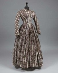 Robe d'après-midi, vers 1845. Daguerre-Drouot