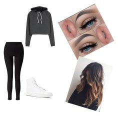 """Untitled #6"" by queen-sanja on Polyvore featuring Common Projects and Miss Selfridge"