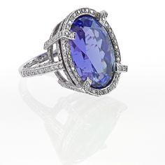 tanzanite rings   Tanzanite Rings  Cocktail Ring   Blue Gemstone Jewellery