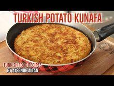 Turkish Style Hash Brown Savory Potato Kunafa For Breakfast Breakfast Recipes video recipe Potato Recipes, Lunch Recipes, Breakfast Recipes, Cooking Recipes, Turkish Fashion, Turkish Style, Turkish Recipes, Ethnic Recipes, Turkish Breakfast