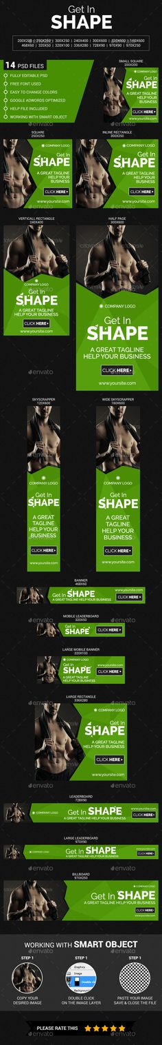 Fitness   Gym Flyer Template Flyer template, Fitness and Gym - gym brochure