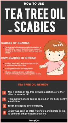 How To Use Tea Tree Oil For Scabies