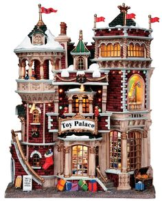 Lemax Village Collections Toy Palace