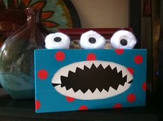 *Teaching Maddeness* - Tissue Box Monster (no paint project!)