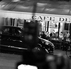 Paris, Cafe de Flore after dark