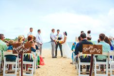 Brit and Tim – Kualoa Ranch Wedding on Oahu!Photos by The Goodness, Secret Island