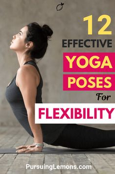 Yoga is an effective workout to improve your flexibility. Here are 9 yoga poses to increase flexibility in your hips, hamstrings, and back! Yoga For Weight Loss, Weight Loss Diet Plan, Lose Weight, Yoga Routine, Yoga Poses For Beginners, Workout For Beginners, Flexibility Training, Yoga To Increase Flexibility, Hard Yoga