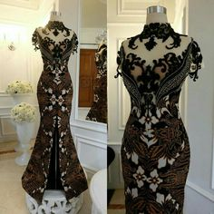 Great Gatsby Dresses, Lovely Dresses, Batik Fashion, Ethnic Fashion, Women's Fashion, Dress Batik Kombinasi, Kebaya Lace, Edwardian Dress, Cheongsam Dress
