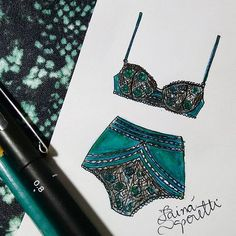 Tainá Saporetti lingerie illustration- Tap the link now to see our super collection of accessories made just for you Lingerie Illustration, Illustration Mode, Fashion Illustration Sketches, Fashion Sketchbook, Fashion Sketches, Jolie Lingerie, Lingerie Models, Moda Fashion, Fashion Art