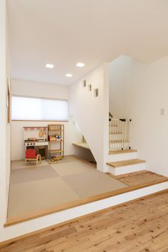 Stair Shelves, Tatami Room, Japan Interior, Natural Interior, Japanese House, Minimalist Design, Interior Design Living Room, Small Spaces, Building A House