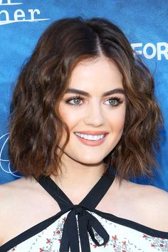 Lucy Hale in the aforementioned bob (we said it was popular, not that it wasn't still great).