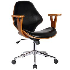 Stay productive in the Lillian Office Chair. Built for motion, versatility, and multitasking, the Lillian Office Chair is the perfect addition to your office. This chair is built to last using bi-cast