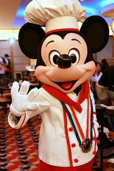Chef Mickey by (nagi), via Flickr