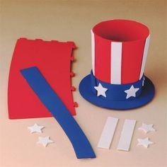 52 DIY July Independence Day Crafts for Kids 4th July Crafts, Fourth Of July Crafts For Kids, Patriotic Crafts, Diy For Kids, Patriotic Costumes, Americana Crafts, 4th Of July Parade, July 4th, Uncle Sam Costume