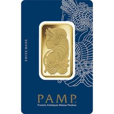 1 oz PAMP Suisse Fortuna Veriscan Gold Bars from JM Bullion™