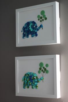 button elephants