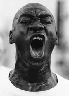 Marine! Marine! Marine! Marine! Marine! He shouts it until his drill instructor is satisfied, Oct. 20, 1971. Marine! (AP Photo/Eddie Adams)