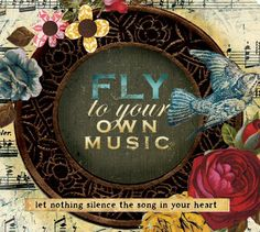 Fly to your own music.