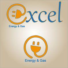 Logo Aziendale per società di distribuzione di energia elettrica e gas Excel Energy & Gas  (proposta 3)