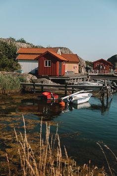 10 Best Islands To Visit in the Gothenburg Archipelago • I, Wanderlista Gothenburg Archipelago, Famous Lighthouses, Over The Bridge, Arch Bridge, Sweden Travel, Big Island, Beautiful Islands, Public Transport, Travel Inspiration
