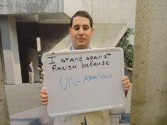 UN-American #StandAgainstRacism