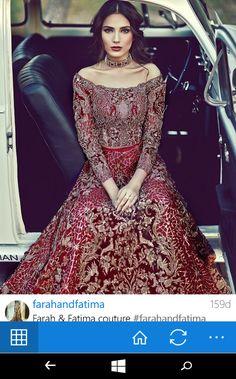 Farah and Fatime couture - Bridal dress Pakistan