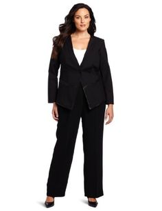 Kenneth Cole Women's Plus-Size Blazer With Detailing Kenneth Cole. $79.97. Leather detailing. Button in front. 50% Cotton/46% Nylon/4% Spandex; Trim: 100% Leather. Made in China. Dry Clean Only