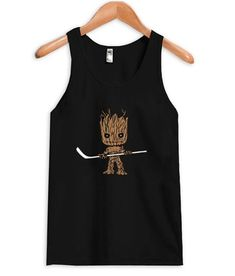 About Hockey Groot Tanktop AYThis tank top is Made To Order, we print one by one so we can control the quality. We use DTG Technology to print Hockey Groot Tanktop AY. Tang Top, Custom Tank Tops, New Tank, Cute Designs, Hockey, Overalls, Unisex, Sweatshirts, Top 14