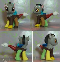 My Little Pony G4 Custom Baby draconequus Discord by SanadaOokmai.deviantart.com on @deviantART