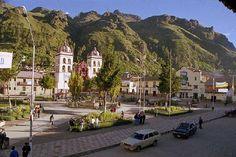 Main square, Huancavelica, Huancavelica, Peru