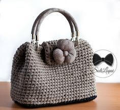 Crochet Bag Handmade by me! #SoliloquiBags