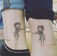 Cute And Small Tattoo Ideas You May Love, There are a lot of explanations for why girls love tattoos. There are means to remove no longer wanted tattoos, but you ought to be ready for the outc. Cute Sister Tattoos, Quote Tattoos Girls, Matching Sister Tattoos, Love Tattoos, Tattoo Quotes, Crown Tattoos, Sibling Tattoos, Tattoo Art, Small Foot Tattoos