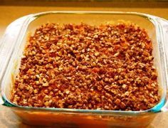 Paleo - Sweet Potato casserole made with fresh orange juice, coconut oil, raw pecans and maple syrup. Coconut Flour Recipes, Paleo Recipes, Real Food Recipes, Cooking Recipes, Yummy Food, Coconut Oil, Paleo Meals, Yummy Eats, Recipes Dinner