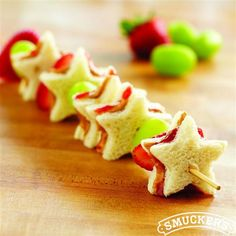 PB&J Fruit Kabobs from Smucker's®