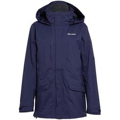 Berghaus Womens Skiddaw AQ2 Waterproof Shell Jacket Dark Blue/Dark Blue
