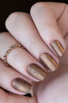 Combinando Esmaltes: cobre fosco - Unha Bonita