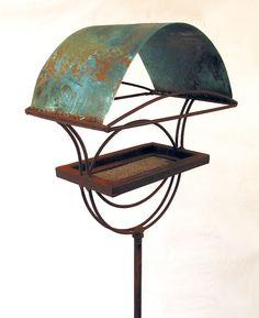 Sculptural Bird Feeder