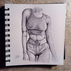Taji Joseph - My Design Ideas 2019 Pencil Art Drawings, Art Drawings Sketches, Realistic Drawings, Cute Drawings, Girl Drawings, Sketch Art, Beautiful Drawings, Art Du Croquis, Body Drawing