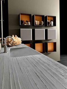 Awesome Concrete furniture: ideas for home decor, Krit washbasin, Marc Sadler, Karol, 2009  