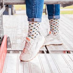 Wear them with your favorit sneakers ____________________________________________ Stance Socks, Happy Socks, Fashion Socks, Swagg, High Top Sneakers, How To Wear, Shopping, Shoes, Instagram