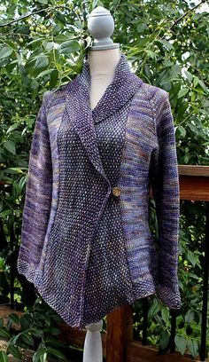 Iced by Carol Feller. malabrigo Mecha, LLuvias colorway.