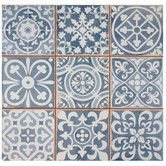 "Found it at Joss & Main - Mamie Ceramic 13"" x 13"" Tile in Blue"