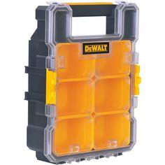 Dewalt DWST14740 8-Compenent Midsize Deep Pro Organizer Tool Storage, Storage Ideas, Landscaping Equipment, Dewalt Tools, Work Tools, Workshop, Hardware, Organization, Cool Stuff