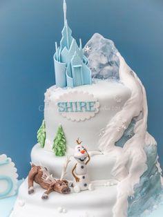 North Mountain Frozen cake