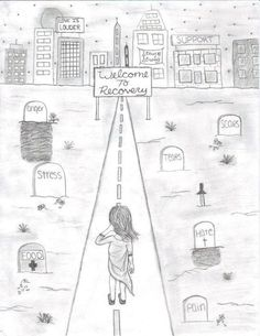 thebeautyinbeautiful:   Words cannot explain how much I love this.  this has to be my favorite recovery drawing on this entire planet <3 ...