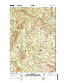 ~ New Sweden ME topo map, 1:24000 scale, 7.5 X 7.5 Minute, Current, 2014